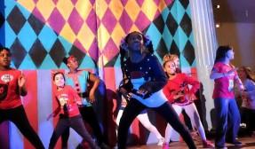 Group of breakdancers