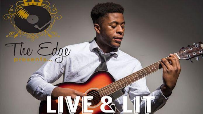Live & Lit - Hackney performer playing live