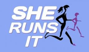 She Runs It logo