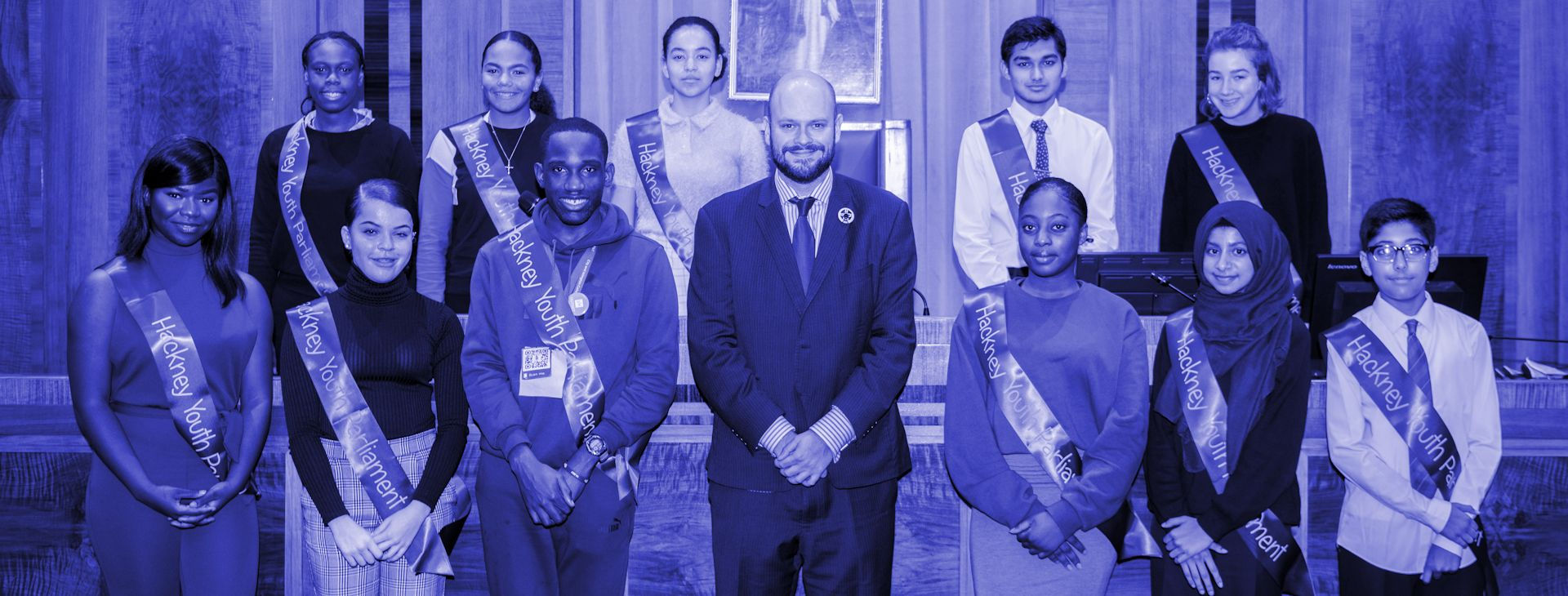 The new Hackney Youth Parliament