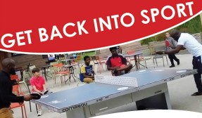 Get into table tennis
